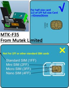 SIM Cards and Dispensers