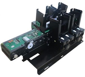 MTK-F53 Customized 4-tray Card Dispenser with motor reader